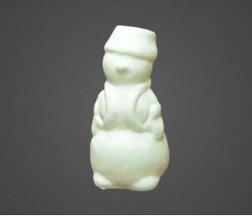 Снеговик в ведре